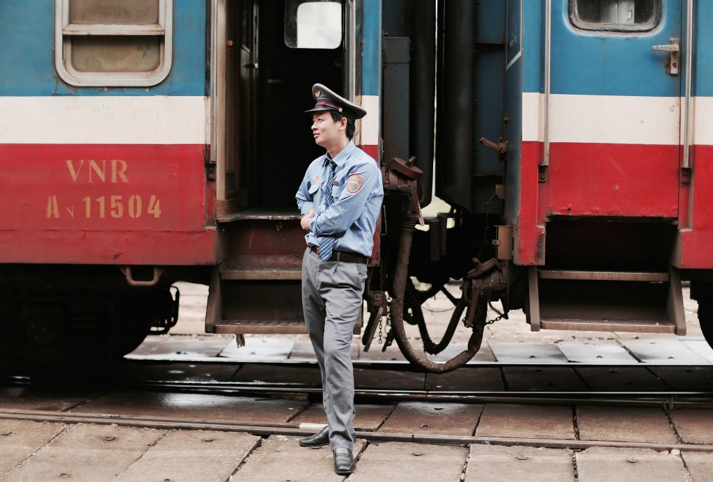Overnight Train Ride form North to South Vietnam